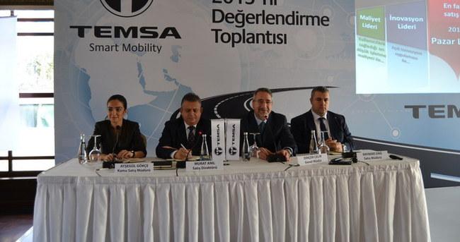 TEMSA, 2015'i değerlendirdi