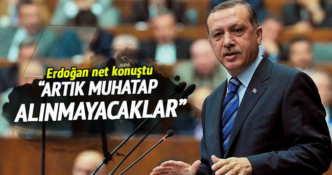 Cumhurbaşkanı Recep Tayyip Erdoğan net konuştu