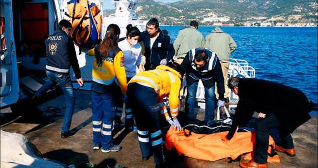 Bir göçmen teknesi faciası daha: 12 ölü