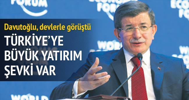 Türkiye'ye büyük yatırım şevki var