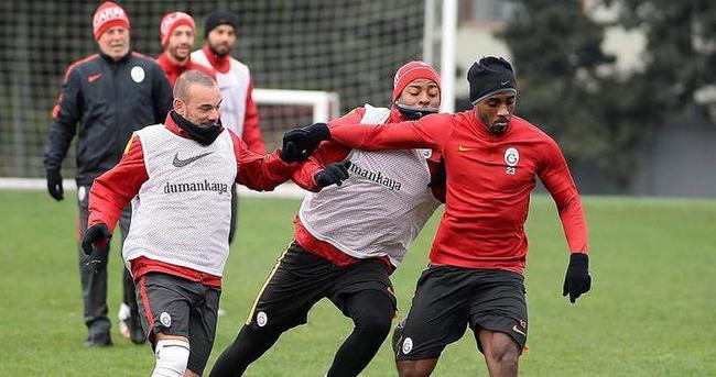 Galatasaray, Osmanlıspor maçına hazır