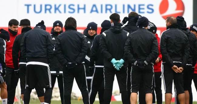 Beşiktaş'ta Trabzonspor maçı hazırlıkları