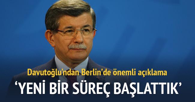 Davutoğlu Almanya'da Türk işadamlarıyla buluştu