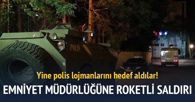 İdil'de emniyet müdürlüğüne roketatarlı saldırı