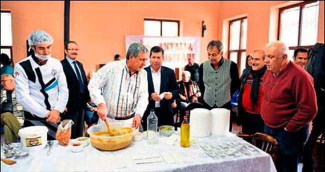 Antalya geleneği 'hibeş' yaşatıldı
