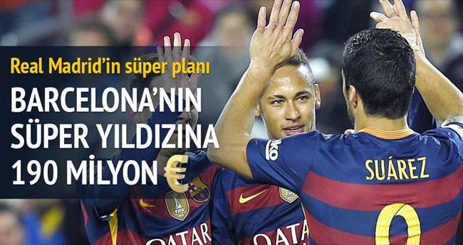 Neymar için 190 milyon €