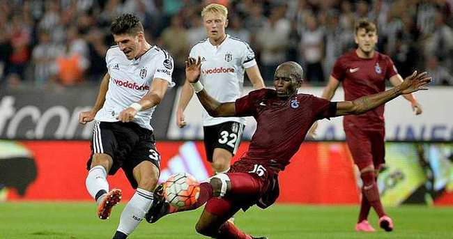 Trabzonspor-Beşiktaş rekabetinde 122. randevu