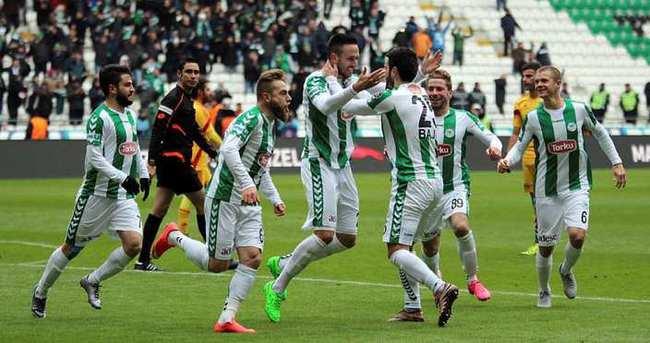 Konyaspor, Kayserispor'u 90+1'de yıktı