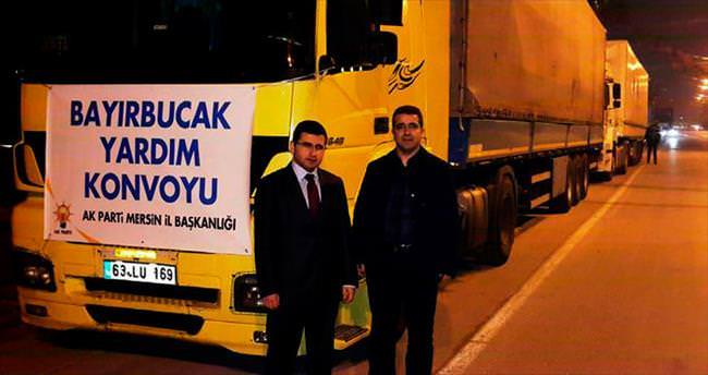 AK Parti'den 6 TIR yardım