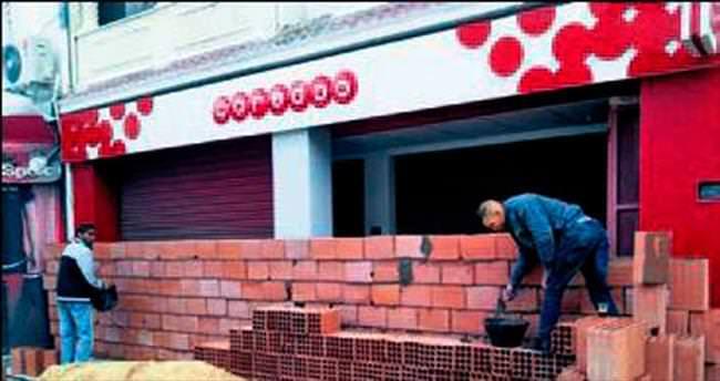 Yağmaya karşı duvar önlemi