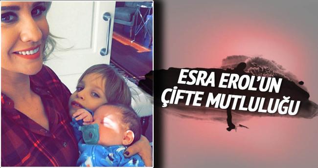 Esra Erol'un çifte mutluluğu