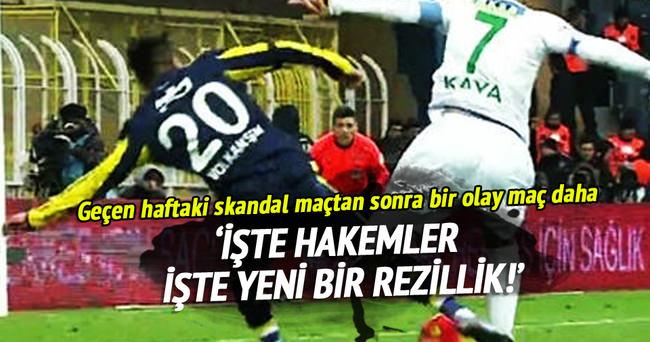 Kadıköy'de ortalığı karıştıran penaltı!