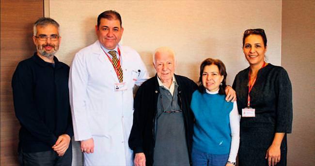 Cemil amca 83 yaşında hayata yeniden döndü