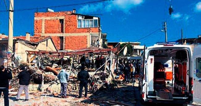Buca'da patlama: 1 ölü, 2 yaralı