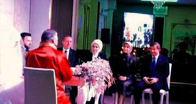 Ekonomi Bakanı Elitaş oğlunu evlendirdi