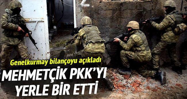 711 terörist öldürüldü