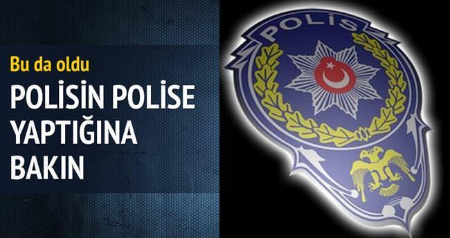 Polis polisi dolandırdı!