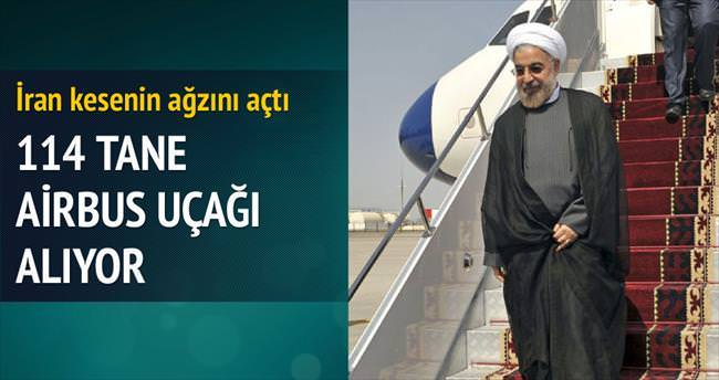İran, Airbus'tan 114 yolcu uçağı alıyor