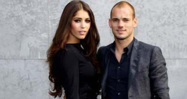 Sneijder'in oğluna olan sevgisini ilan etti