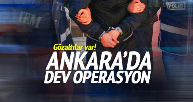 Ankara'da DAEŞ operasyonu