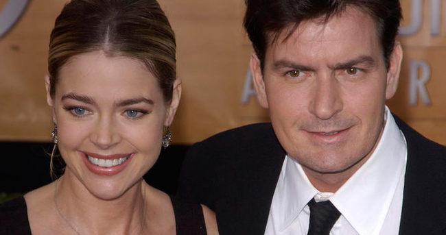 Charlie Sheen'den eski eşi Denise Richards'a şok tehdit!