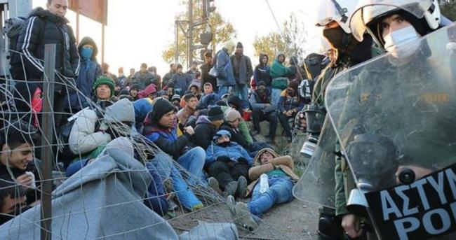 Sığınmacılara Avrupa yolunda bıçaklı saldırı