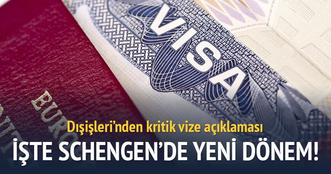 Çavuşoğlu'ndan kritik vize açıklaması