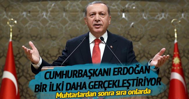Cumhurbaşkanı Erdoğan, kaymakamlarla bir araya gelecek