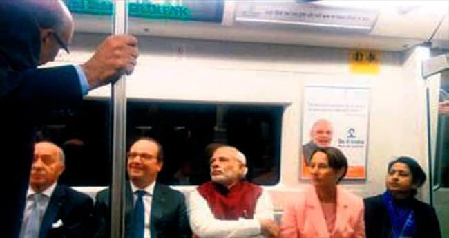 Metroda uçak diplomasisi
