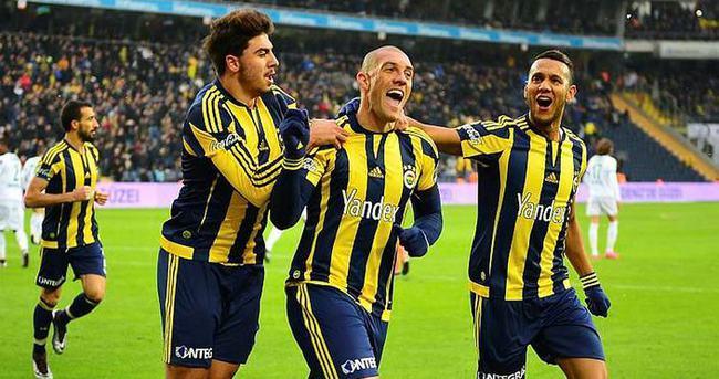 Maç fazlasıyla zirve Fenerbahçe'de