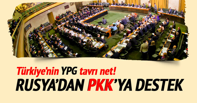 Rusya: YPG katılmadan anlaşmaya varılması imkânsız