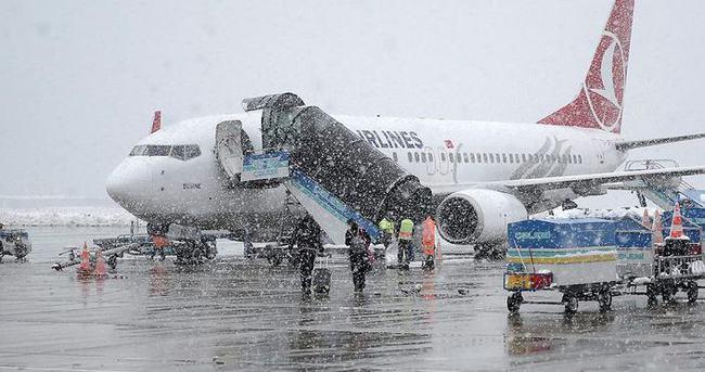 Uçakların karla imtihanı