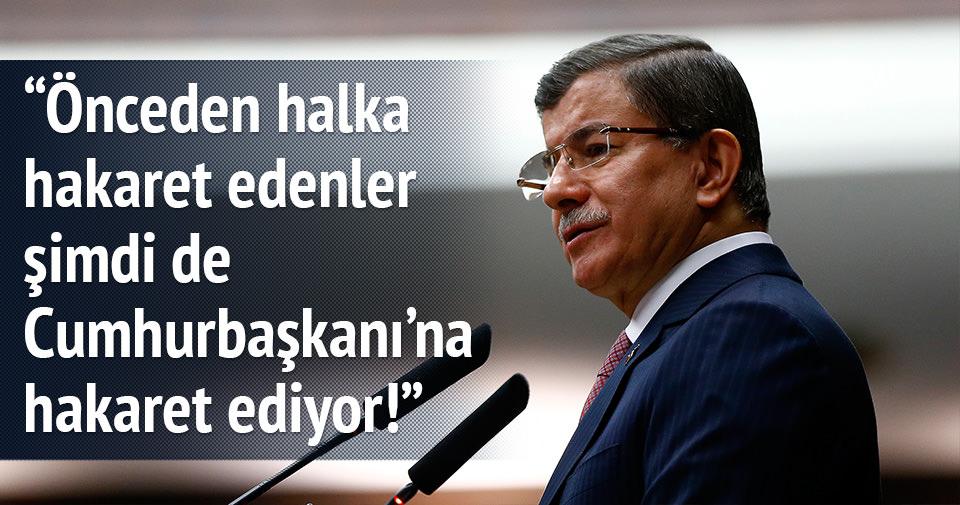 Davutoğlu'ndan Kılıçdaroğlu'na sert sözler