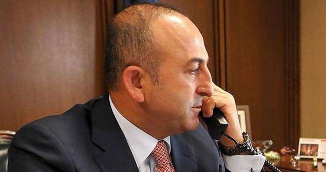 Mevlüt Çavuşoğlu'ndan kritik görüşme