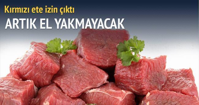 Et fiyatı için ithalat izni verilecek