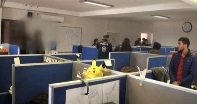 Çağrı merkezi ile dolandırıcılık operasyonu: 40 gözaltı