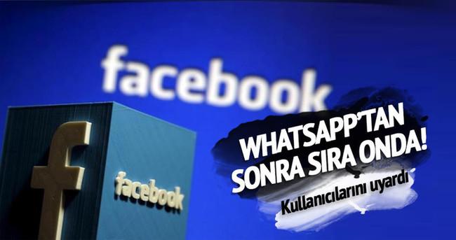 Facebook kullanıcılarına siber saldırı uyarısı