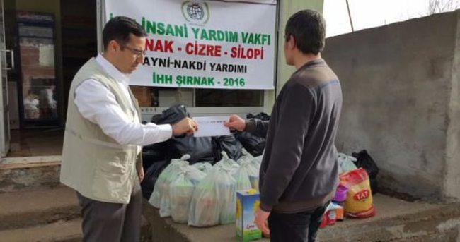İHH'dan terör mağduru vatandaşlara yardım