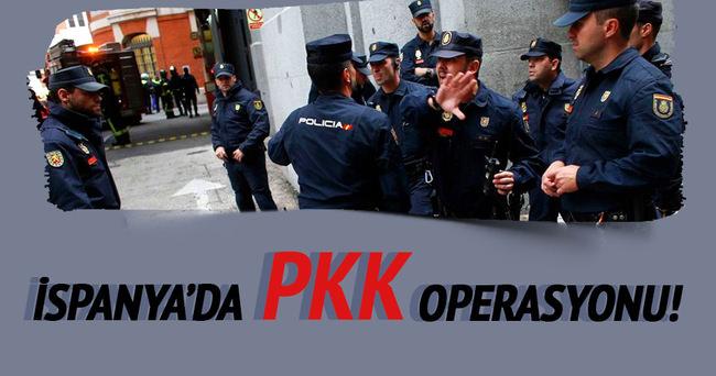 İspanya PKK operasyonu!