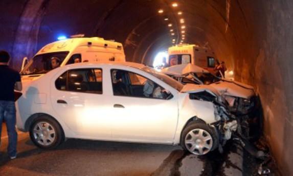 Zonguldak'ta tünel içinde kaza: 3 yaralı