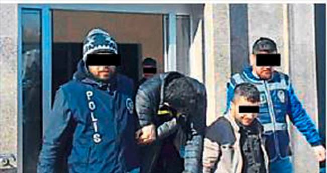 16 ayrı eve girip hırsızlık yapmışlar