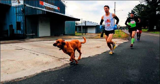 Maratona katılıp yedinci bitirdi
