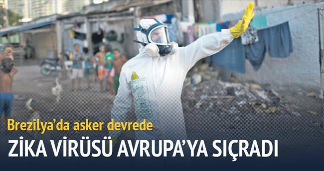 Zika virüsü Avrupa'ya sıçradı