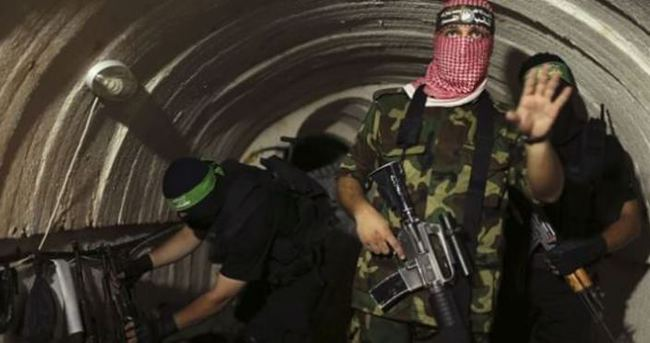 7 Hamas askeri hayatını kaybetti