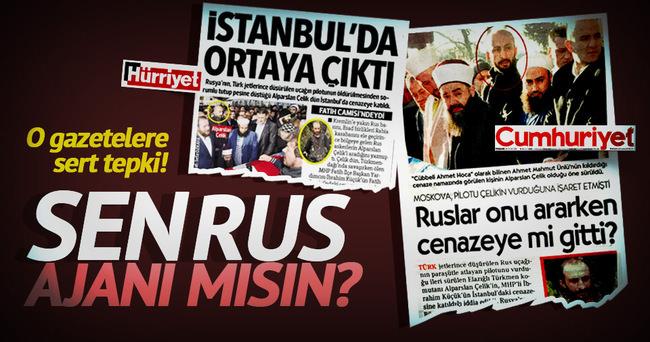Erkan Tan'dan Hürriyet'e tepki!
