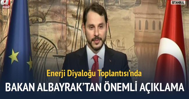 Enerji Bakanı Berat Albayrak'tan önemli açıklamalar