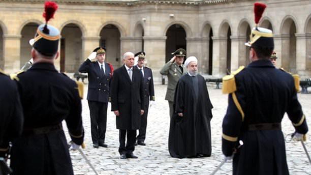 Paris'te Ruhani Protestosu