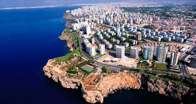 Antalya'nın nüfusu 2 milyon 288 bin 456