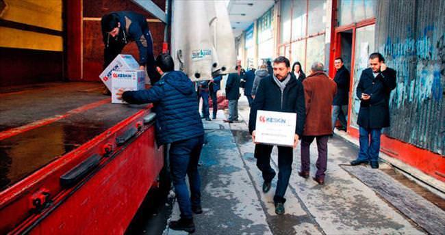 Türkmenler için1 TIR yardım