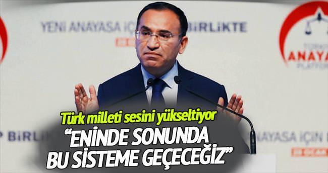 'Türkiye, eninde sonunda başkanlık sistemine geçecek'
